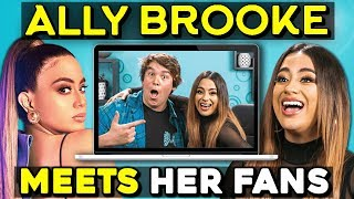 Generations React To AND MEET Ally Brooke (Fifth Harmony)