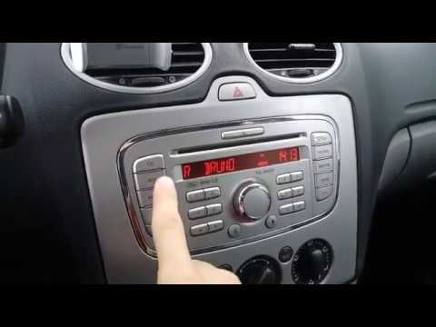 ford focus 2008 11 aux input location youtube. Black Bedroom Furniture Sets. Home Design Ideas