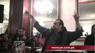 vuclip Qawal Amjad Sabri's Performance at Pakistan League of America