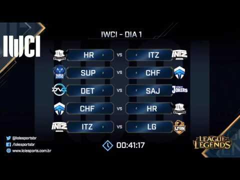 [PT-BR] IWCI 2016  - D1