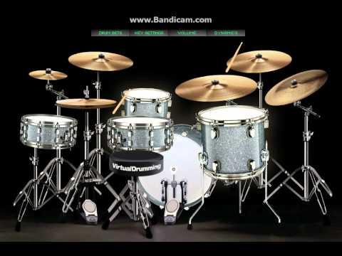 Samsons - Kutemukan Cinta (Virtual Drum Covers) by Willian