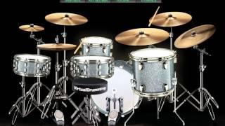 Samsons Kutemukan Cinta Virtual Drum Covers by Willian