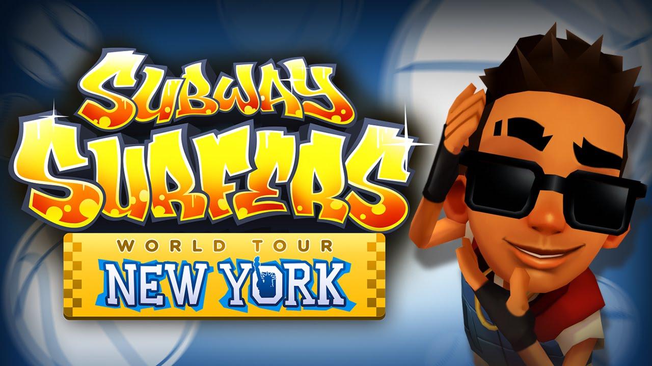 Subway Surfers World Tour New York Trailer YouTube
