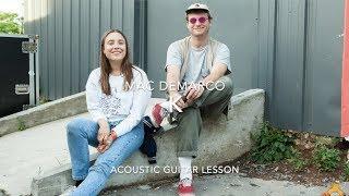 K Mac Demarco Acoustic Guitar Lesson