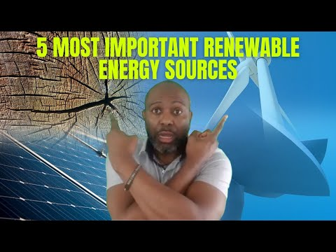 The 5 Most Important Renewable Energy Sources in Africa