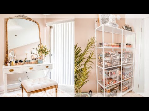 BEAUTY ROOM TOUR!