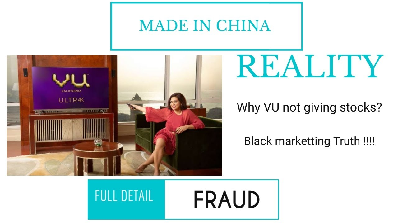 VU TV STOCK REALITY - TRUTH EXPOSED | MADE IN CHINA | VU not a Indian Company