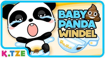 Baby Panda mit voller Windel 💩😂 Videos für Kinder