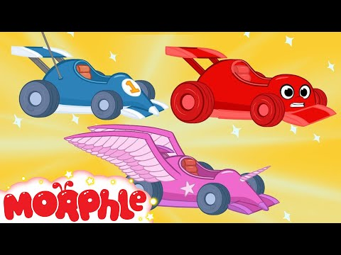 Thumbnail: Race Car Morphle and The kids Super Heroes! My Magic Pet Morphle Animations For Kids