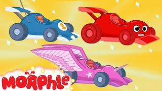 Download Race Car Morphle and The kids Super Heroes! My Magic Pet Morphle Animations For Kids Mp3 and Videos