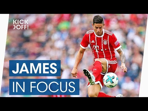 Best goals & skills of james rodriguez at bayern | bundesliga highlights