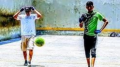 Flaca y Mascarita Flaka vs Israel y Nefas Frontón Santa Rosa primer partido