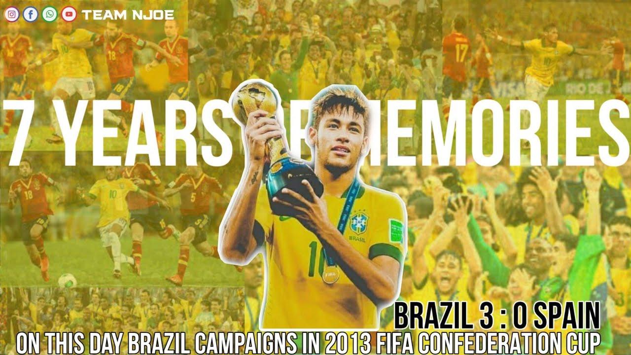 7 YEAR OLD   BRAZIL VS SPAIN FIFA CONFEDERATION CUP 2013 FINAL   BRAZIL കോൺഫെഡറേഷൻ CUP എടുത്ത ദിനം