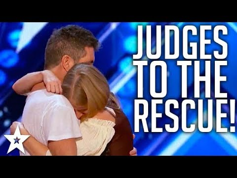 JUDGES SAVE AUDITIONS on America's Got Talent & Britain's Go