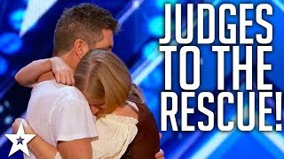 JUDGES SAVE AUDITIONS on America's Got Talent & Britain's Got Talent