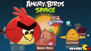 Angry Birds Space: Brass Hogs Level 9-1 Walkthrough 3 Stars