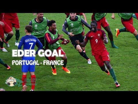 Eder Goal vs France | Euro 2016 Final Full HD