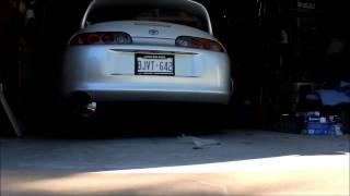 Single Turbo Supra - Varex Muffler