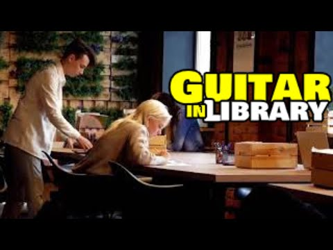 GUITAR  🎸 in library