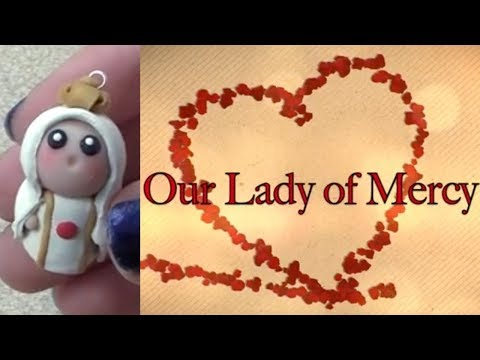 Our Lady of Mercy Chibi Charm