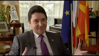Macédoine - Interview sur Kanal5 - 09/09/2018