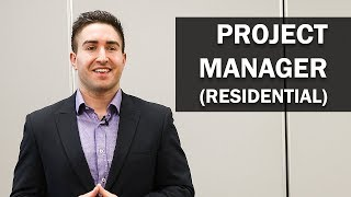 Job Talks - Project Manager (Residential) - Bart Explains What Makes a Successful PM