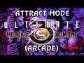 Ultimate Mortal Kombat 3 Arcade Attract Mode MAME 1080p 60fps mp3
