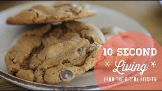 All About Chocolate Chip Cookies // 10 Second Living