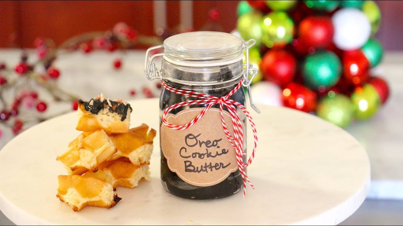 DIY Edible Christmas Gifts - Oreo Cookie Butter - Kena Peay (Day 1 ...