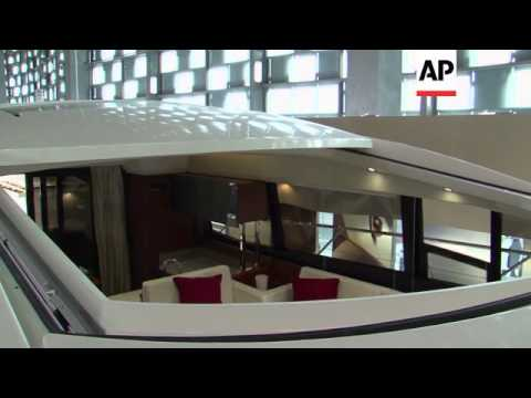 Luxury yachts for China's mega rich