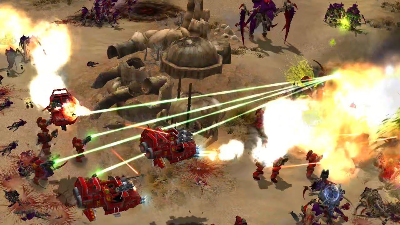 Download BLOODLINE MOD 2020: Blood Angels vs Tyranids! - Warhammer 40K: Dawn Of War: Soulstorm