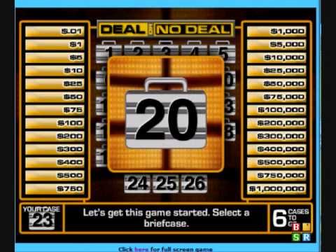 how to win deal or no deal game