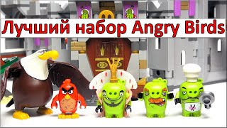 LEGO The Angry Birds Movie. Обзор Замок короля свинок (75826) King Pig's Castle. Лего Злые Птички