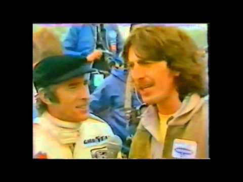George Harrison and Jackie Stewart Interview Motorsport 06/03/1979
