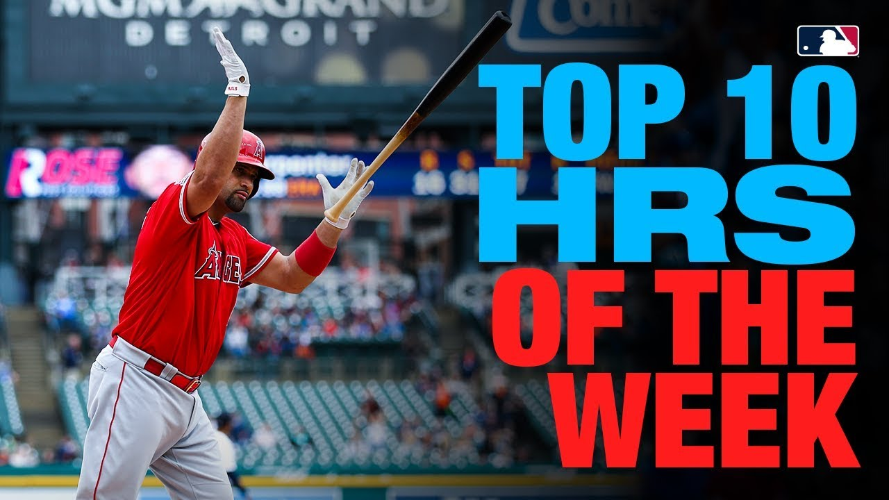 Pujols' 2000th RBI tops Top 10 Home Runs of the Week (5/5 to 5/11)