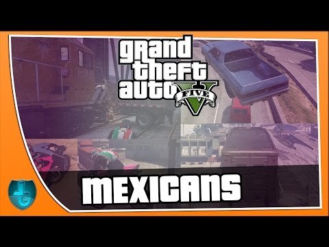 'MEXICANS?!' GTA 5 W/ ED - ONLINE [4]