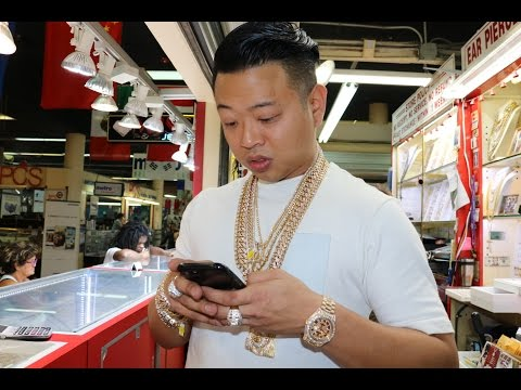 Thumbnail: Franky Diamonds Miami Jeweler Teaches Us How to Spot a Fake Rolex & Schools us on Diamonds.
