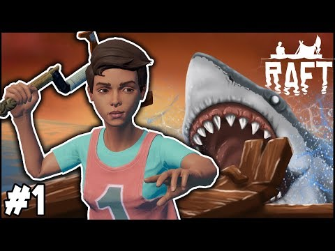MY FAVOURITE GAME IS BACK!! - THE RAFT! #1