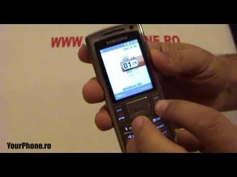 Samsung U800 Review in Romana