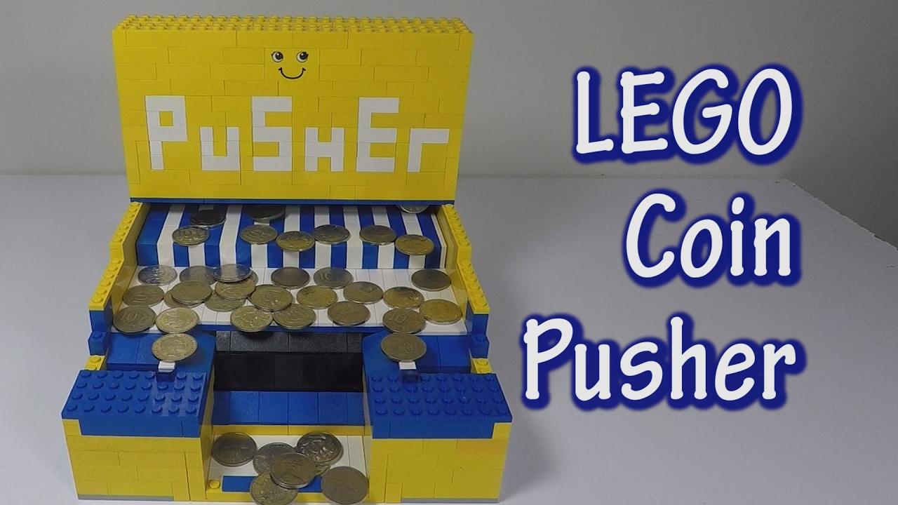 LEGO Coin Pusher - LEGO Life Hacks - Build a LEGO Arcade Game