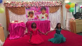 AMBILI MAMANU KAMBILI FOLK DANCE by ROSE THOMAS AND DIYA RAJESH