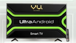 Review of Vu ultra Android TV 40 inch .