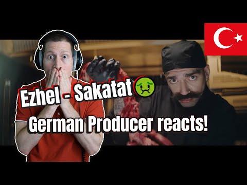 Turkish Rap Music Reaction | Ezhel - Sakatat 🤢🤢🤢