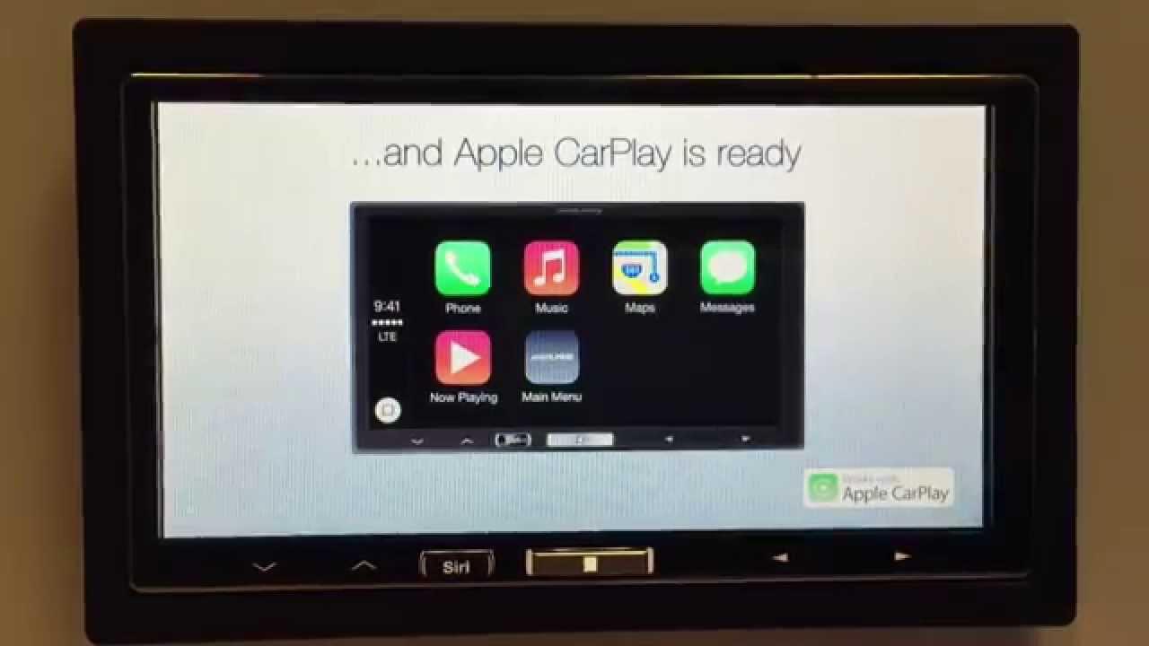 alpine ilx 700 apple carplay demo mode youtube. Black Bedroom Furniture Sets. Home Design Ideas