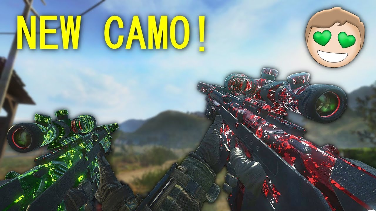 Release - BO2 Redacted Animated Camos | CabConModding