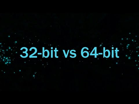 32-bit vs 64-bit OS performance