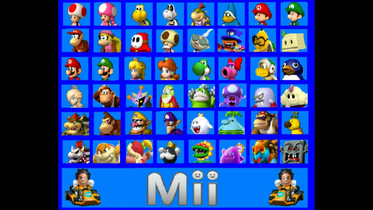 Mario Kart 8 Custom Character Roster New And Improved