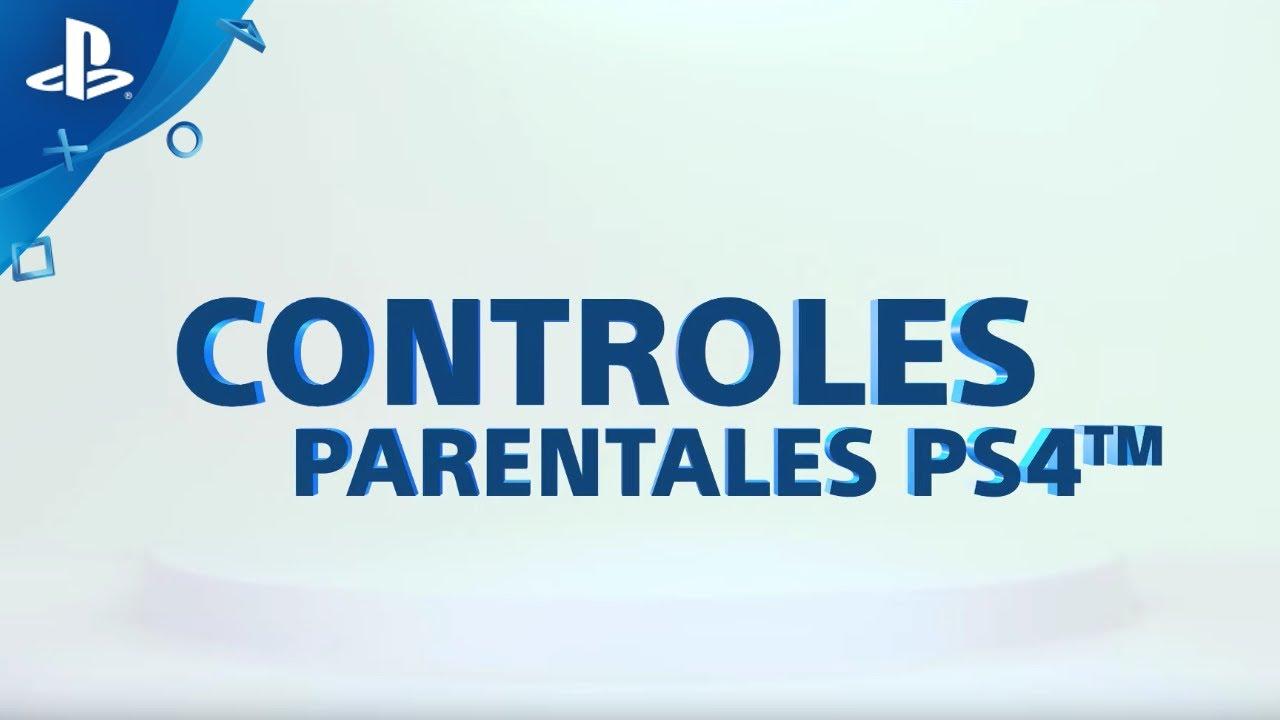 ¿Cómo configurar los controles parentales en PS4? | PlayStation España