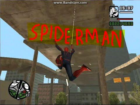 скачать мод на Spider Man для Gta San Andreas - фото 7