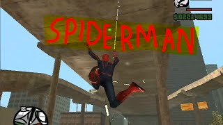 How to use the spiderman mod for GTA San Andreas (READ DESCRIPTION)